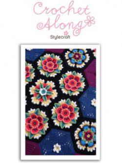 Haakpakket Frida's Flowers met Stylecraft Life DK-0