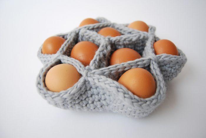 Haakpakket eiermandje