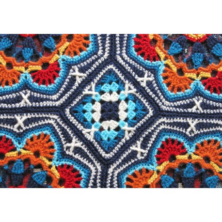 Haakpakket Persian Tiles in Stylecraft Special DK-7975