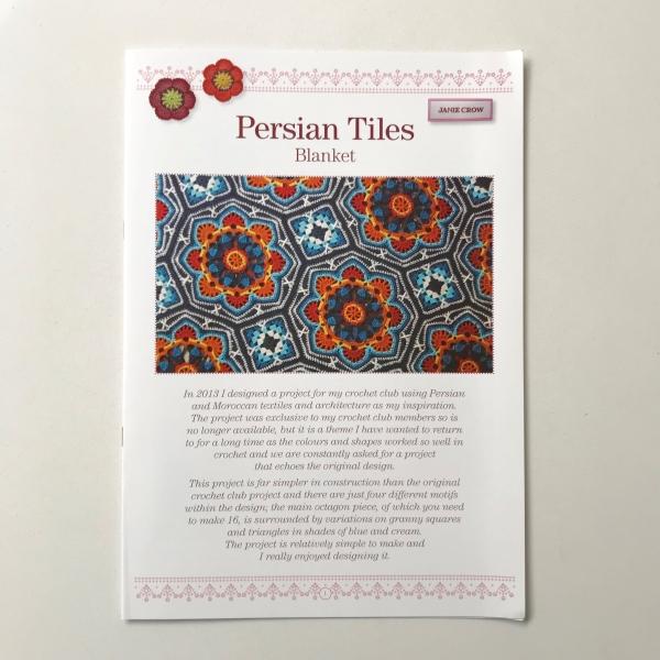 Haakpakket Persian Tiles Pink met Stylecraft Life DK-14208