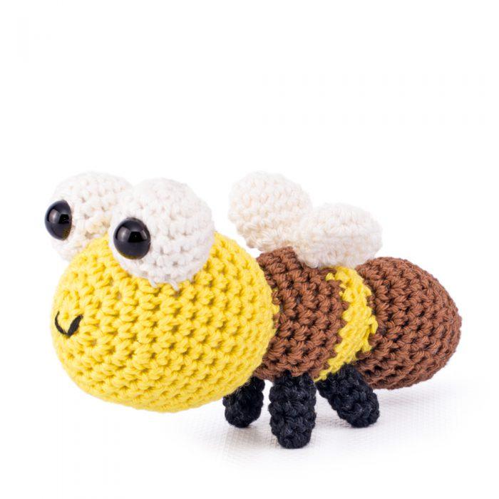 Materiaal Reuze teddybeer en maanbij-8272