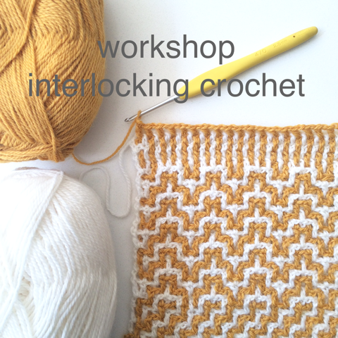 Workshop Interlocking Crochet Echtstudio
