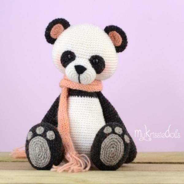 Haakpakket Mijn Kleine Pandabeer Patroon Via Mykrissiedolls