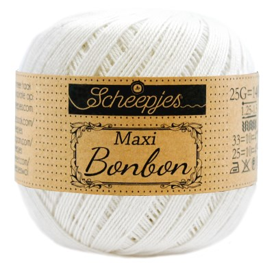Scheepjes Maxi Bonbon 105 Bridal White