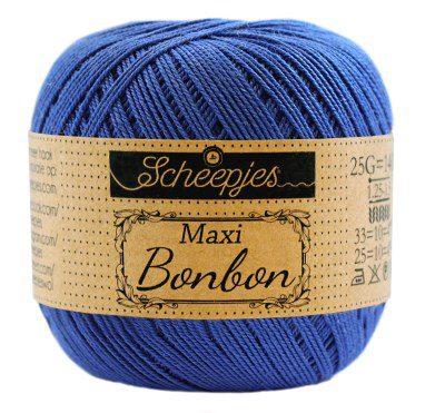 Scheepjes Maxi Bonbon 201 Electric Blue