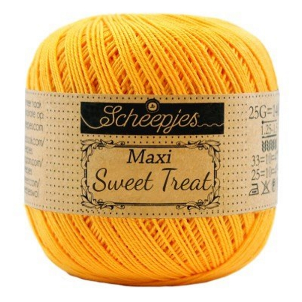 Scheepjes Maxi Sweet Treat 208 Yellow gold
