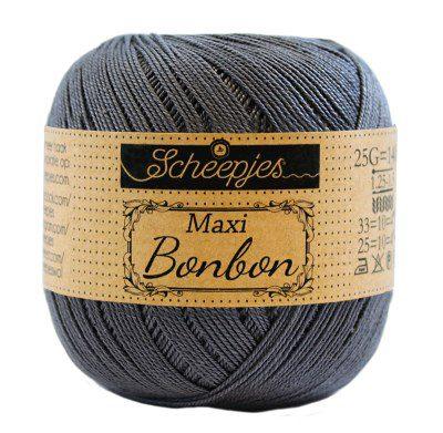 Scheepjes Maxi Bonbon 393 Charcoal