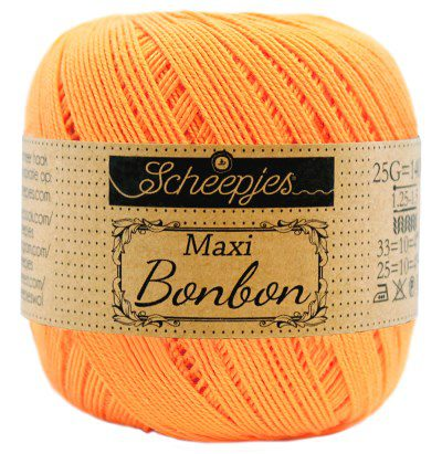 Scheepjes Maxi Bonbon 411 Sweet Orange