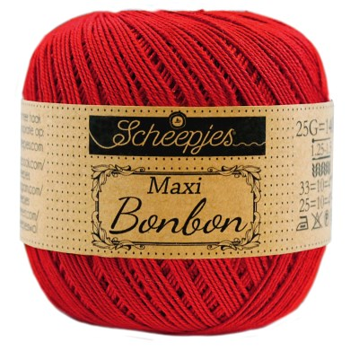 Scheepjes Maxi Bonbon 722 Red