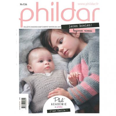 Phildar Magazine NO. 136 Kinderen en Baby's