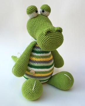 Haakpakket Krokodil Karel