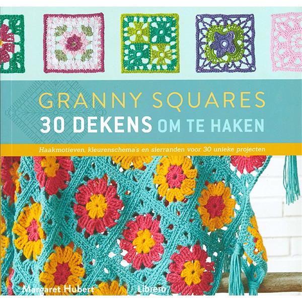 Boek Granny Squares 30 Dekens om te haken
