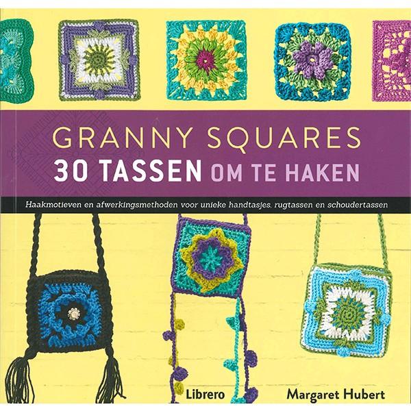 Boek Granny Squares 30 Tassen om te haken