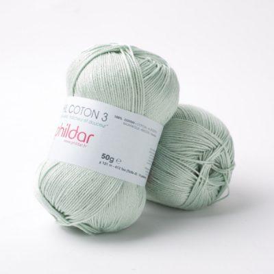 Phildar coton 3 1300 amande