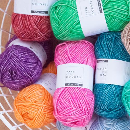 Yarn and Colors Charming totaalpakket