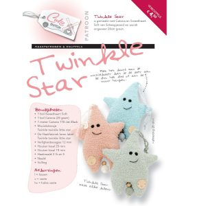 Haakpatroon Twinkle Star (gedrukt exemplaar, geen downloadlink)-12565