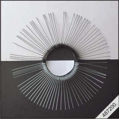 Snorharen zwart 7cm per 10 stuks