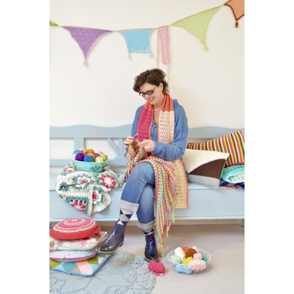 byClaire 5 kleuren sjaal aqua