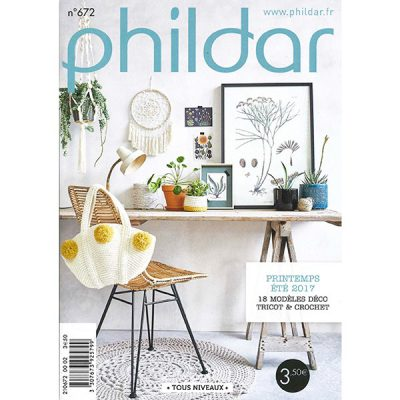 Phildar magazine NO. 672