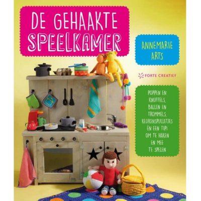 Boek De gehaakte speelkamer