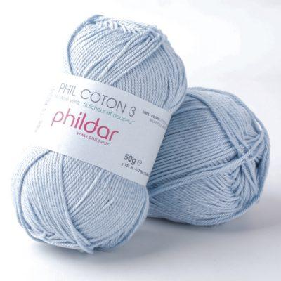 Phildar coton 3 0019 ecume