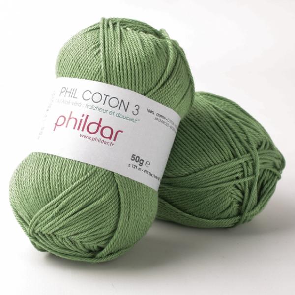 Phildar coton 3 0053 roseau