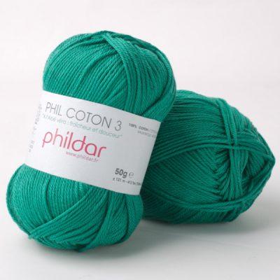 Phildar coton 3 2298 sapin