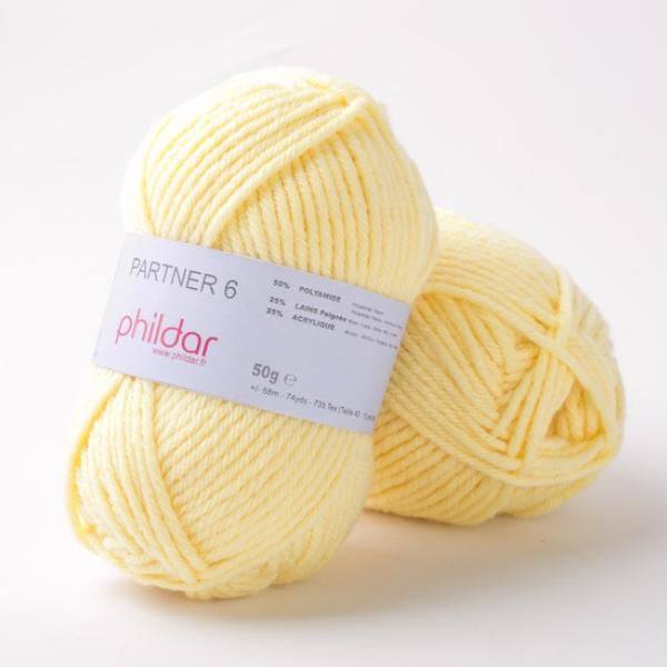 Phildar partner 6 1001 Poussin