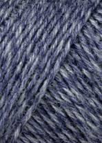 JAWOLL 258 denim/blauw
