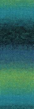 JAWOLL MAGIC 078 blauw/groen