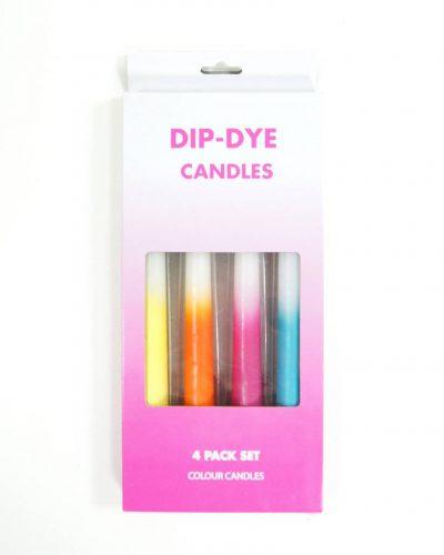 Colour DIP-DYE candles-0