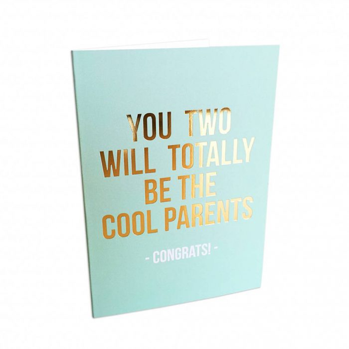 greeting card: cool parents-0