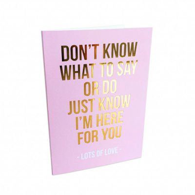 Greeting card lots of love-0