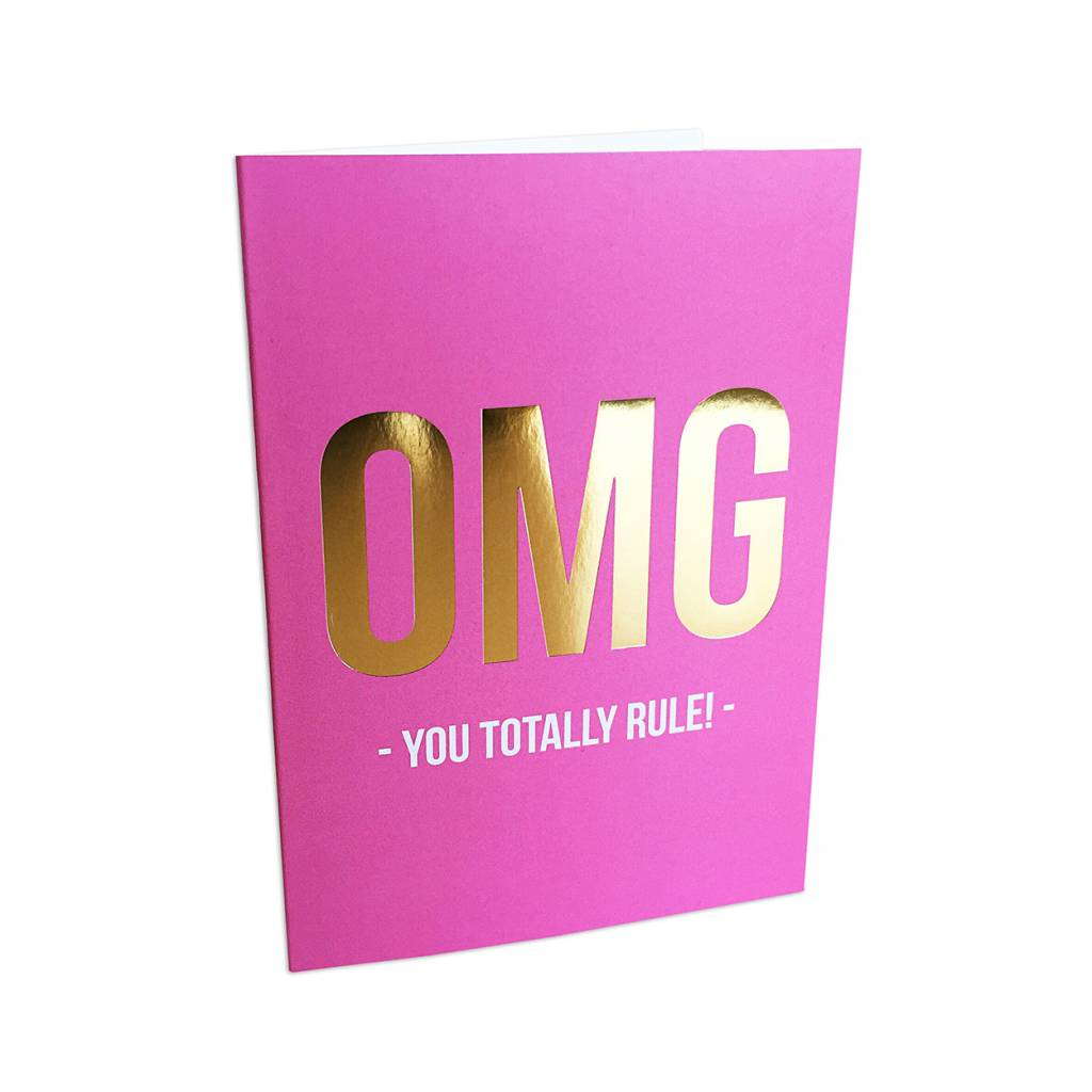 Greeting card you rule-0