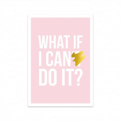 Card I can do it-0