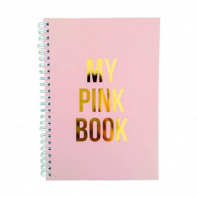 notebook My pink book-0