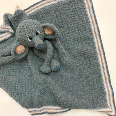 Woolytoon_knuffledeken_olifant