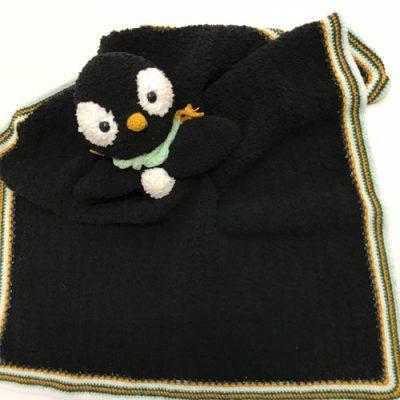 Woolytoon_knuffledeken_Pinguin