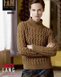 Lang Yarns magazine FAM 248 Merino