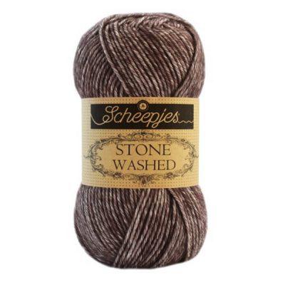 Scheepjes Stone Washed 829 Obsidian