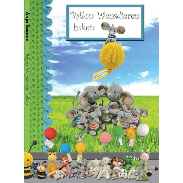 Boek Ballon Wensdieren haken