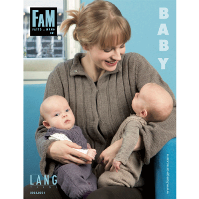 Lang Yarns magazine FAM 221 Baby