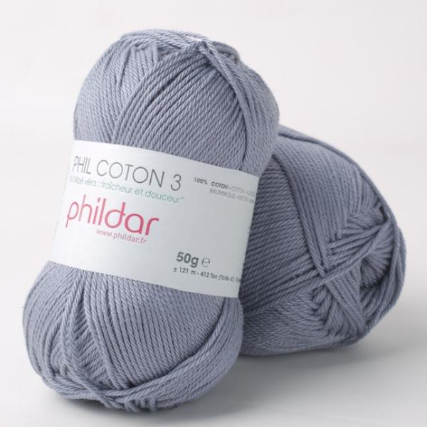 Phildar coton 3 2089 jeans