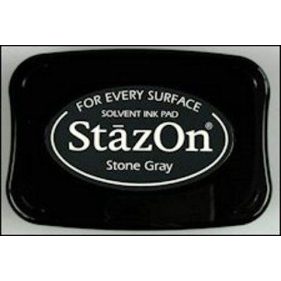StazOn stempelkussen stone gray