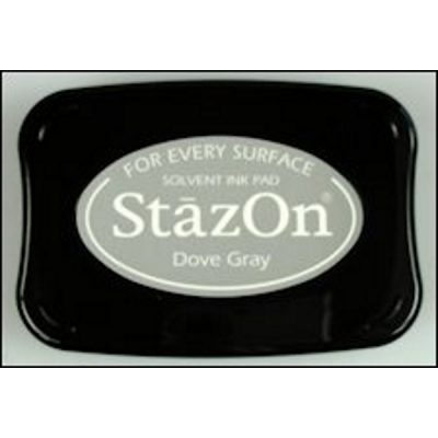 StazOn stempelkussen dove gray