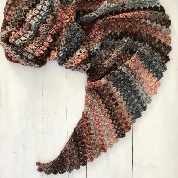Haakpakket Flam(m)e shawl