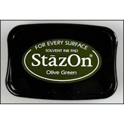 StazOn stempelkussen olive green