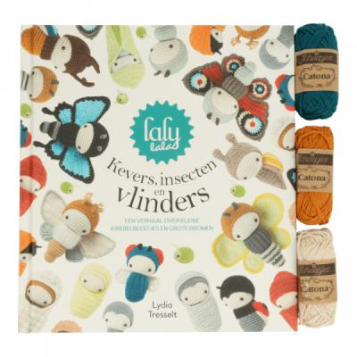 Boek Lalylala Kevers, insecten en vlinders