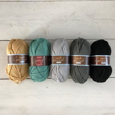 Haakpakket deken blanket stitch nr. 4