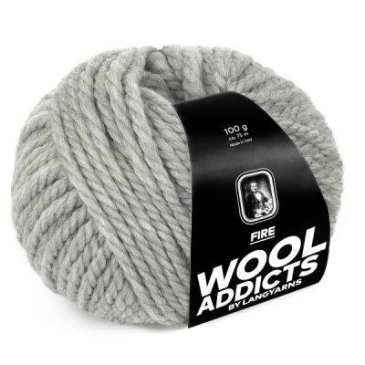 Wool Addicts FIRE 003 light grey